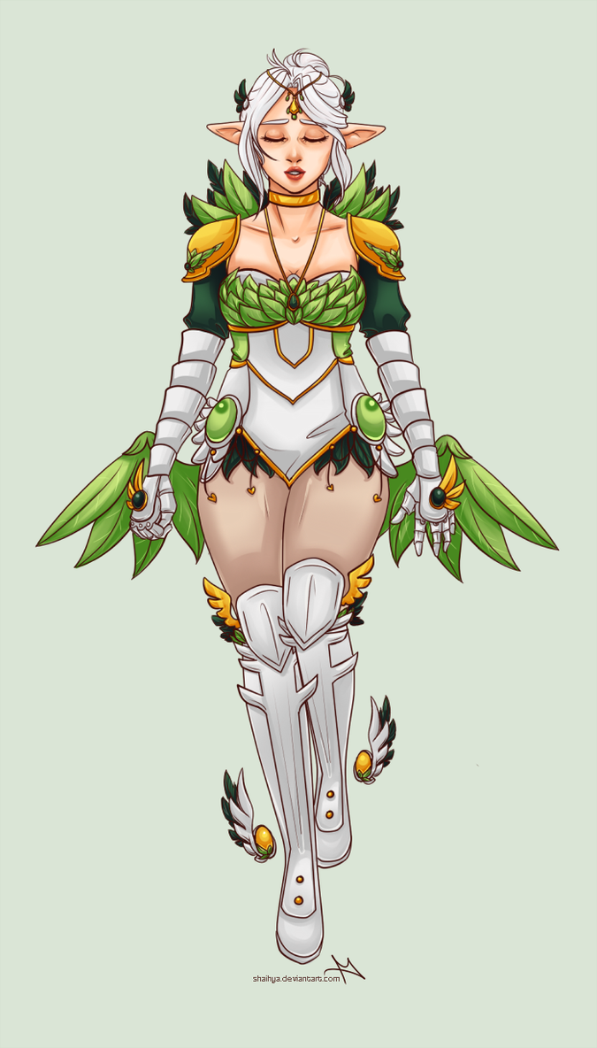 Valkyrie Leah - Commission by shaihya