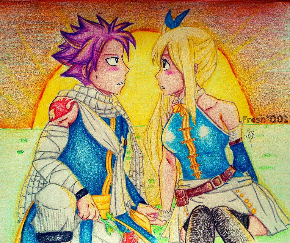 I love you - Natsu and Lucy by Fresh002