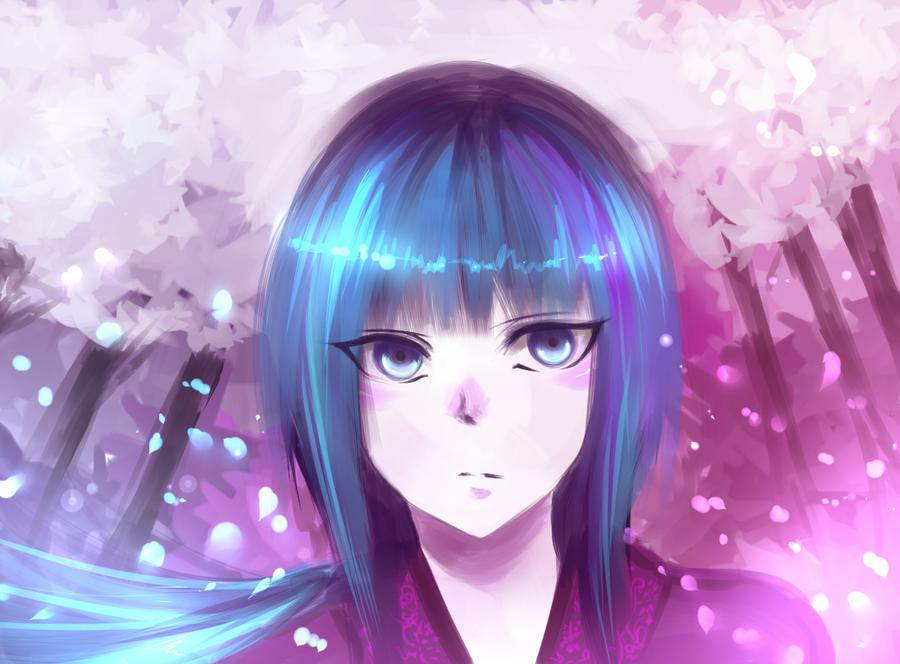 Japanese girl by ZedRMD1