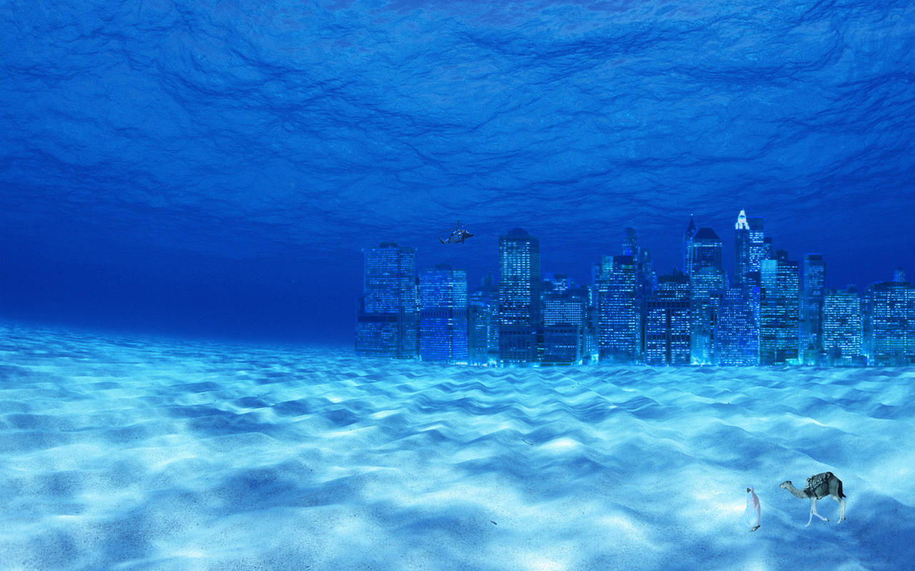 Underwater city background by NickimolaUnderwater Background Tumblr