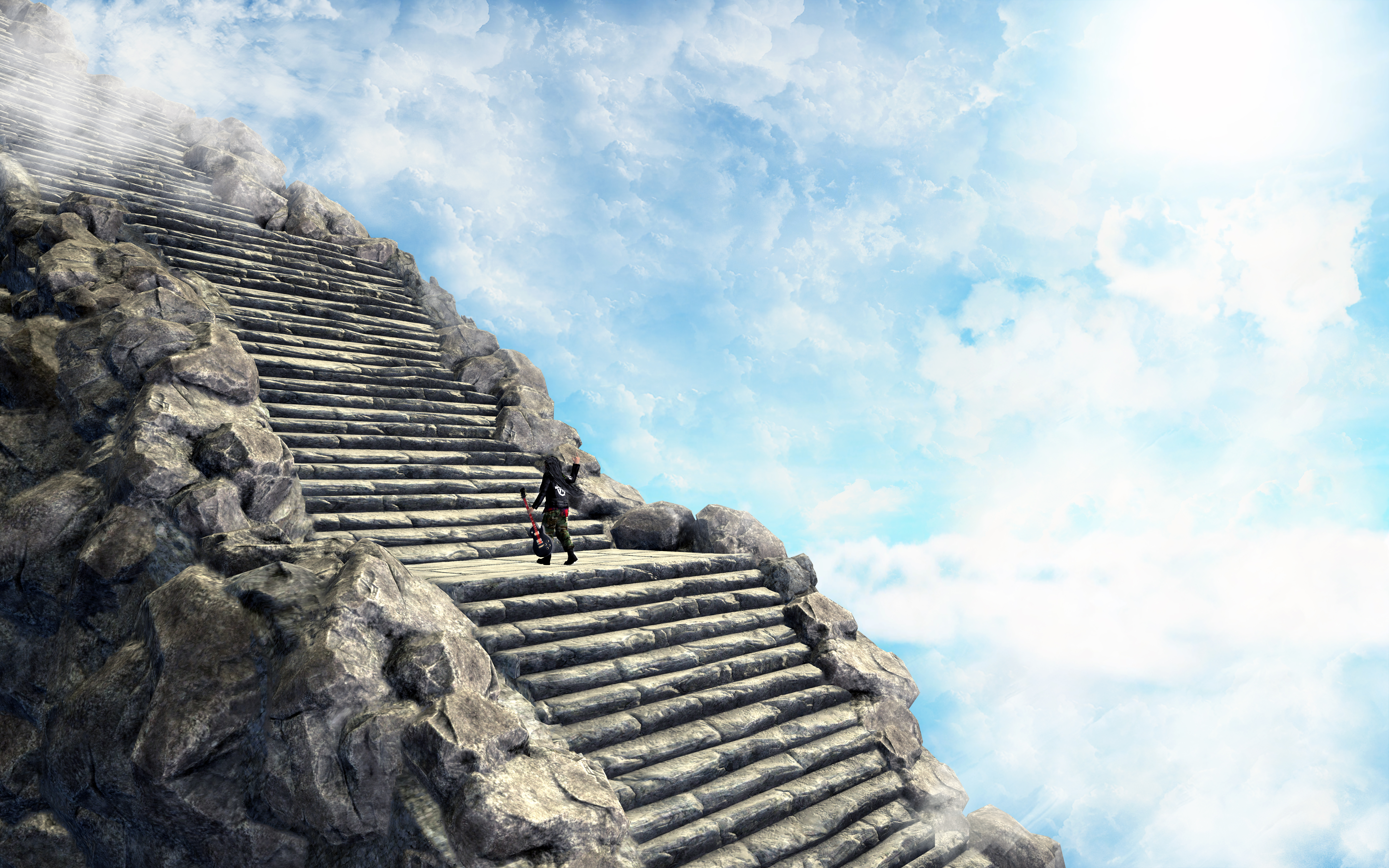 stairway to heaven by wanr on deviantart