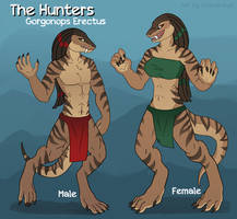 The Hunters Species Reference Sheet by Sriseru