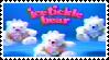 Ice tickle bears fan