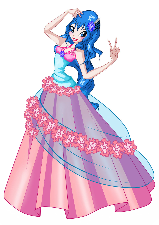 Emma flower princess ball gown by Emma1808 on DeviantArt