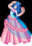 Emma flower princess ball gown