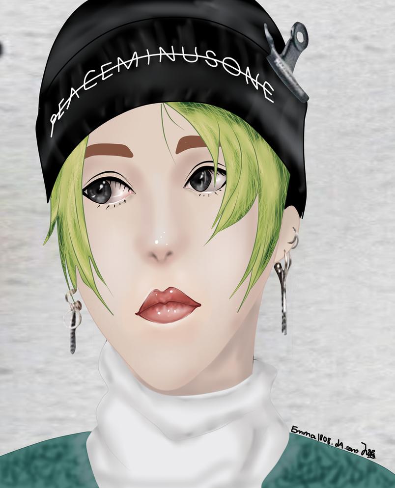 G Dragon Green Hair By Emma1808