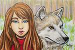 The Wolf by mevart-studio