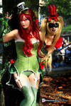 Poison Ivy and Harley Quinn -  Steampunk ver.