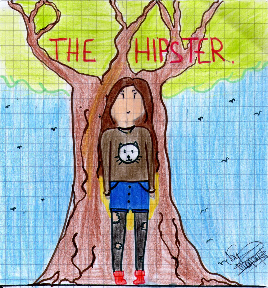 Fan art- The Hipster by Art-of-flame