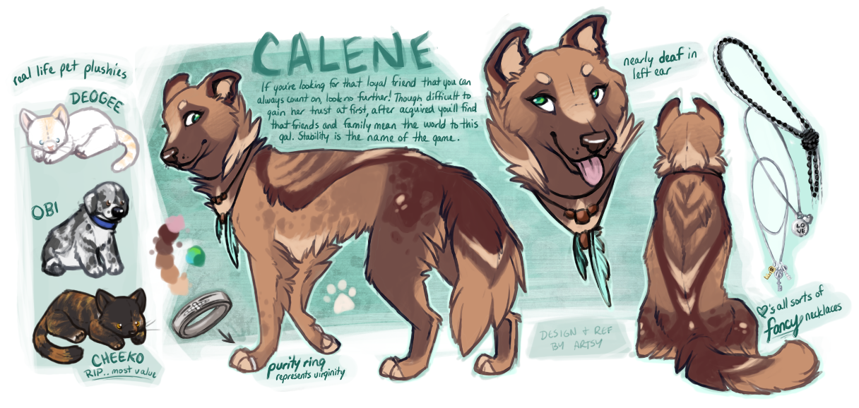 Calene by Artsywolven