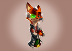 Nick McCloud - A Zootopia and StarFox crossover