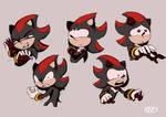 Shadow the Hedgehog Sketches