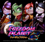 Freedom Planet 2 Heroes