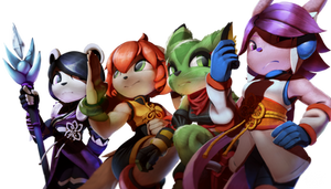 All 4 Freedom Planet 2 Heroes