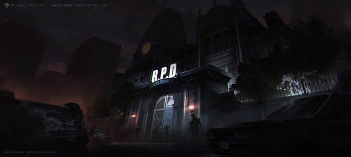 R.P.D. Invasion - Resident Evil 2 Remake