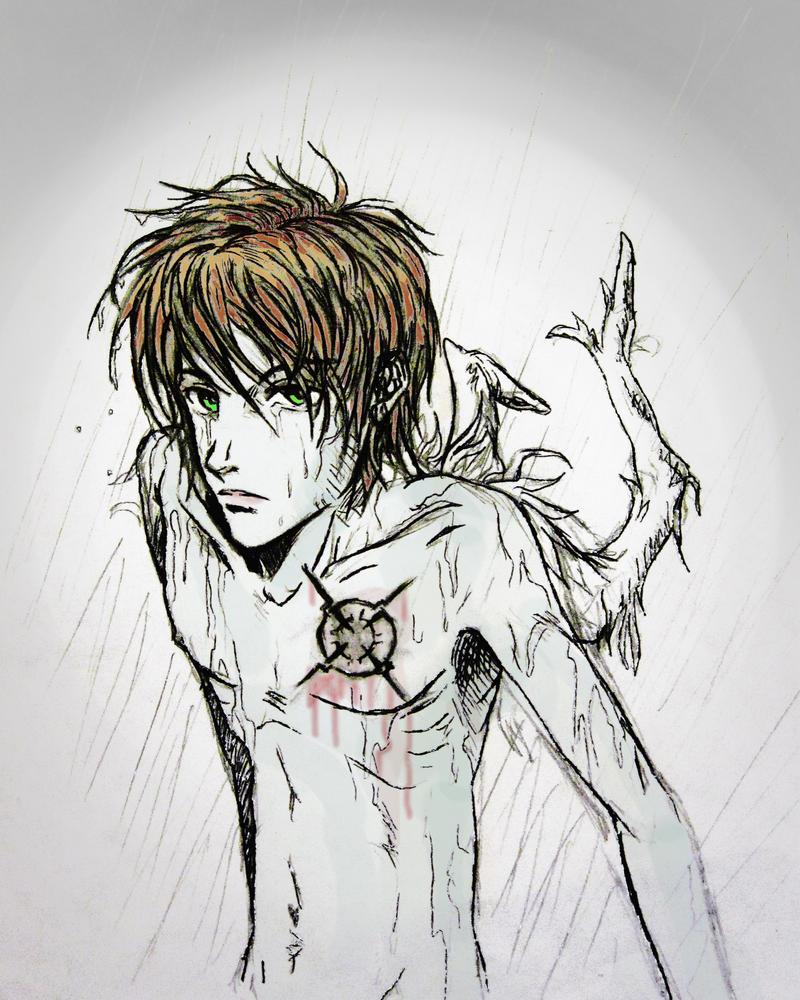 Angel Sketch by ryuhakuzo on