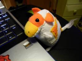 Candy Corn Cow by jennovazombie