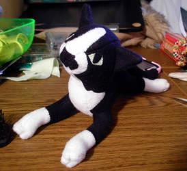Tuxedo plush by jennovazombie