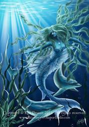 Water Elemental by AmberCrystalElf