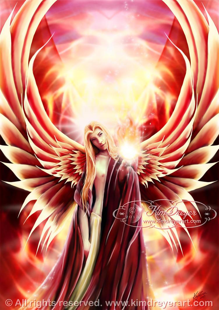 Archangel Uriel by AmberCrystalElf on DeviantArt