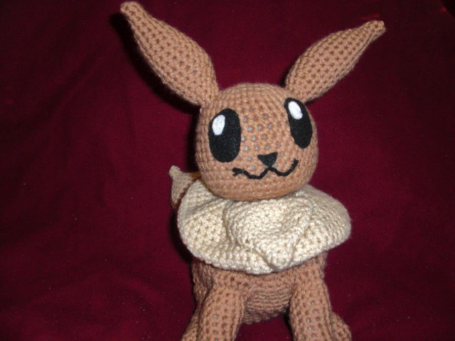 Amigurumi Crochet Pattern Etsy : Eevee amigurumi by Damonpriesterin on deviantART
