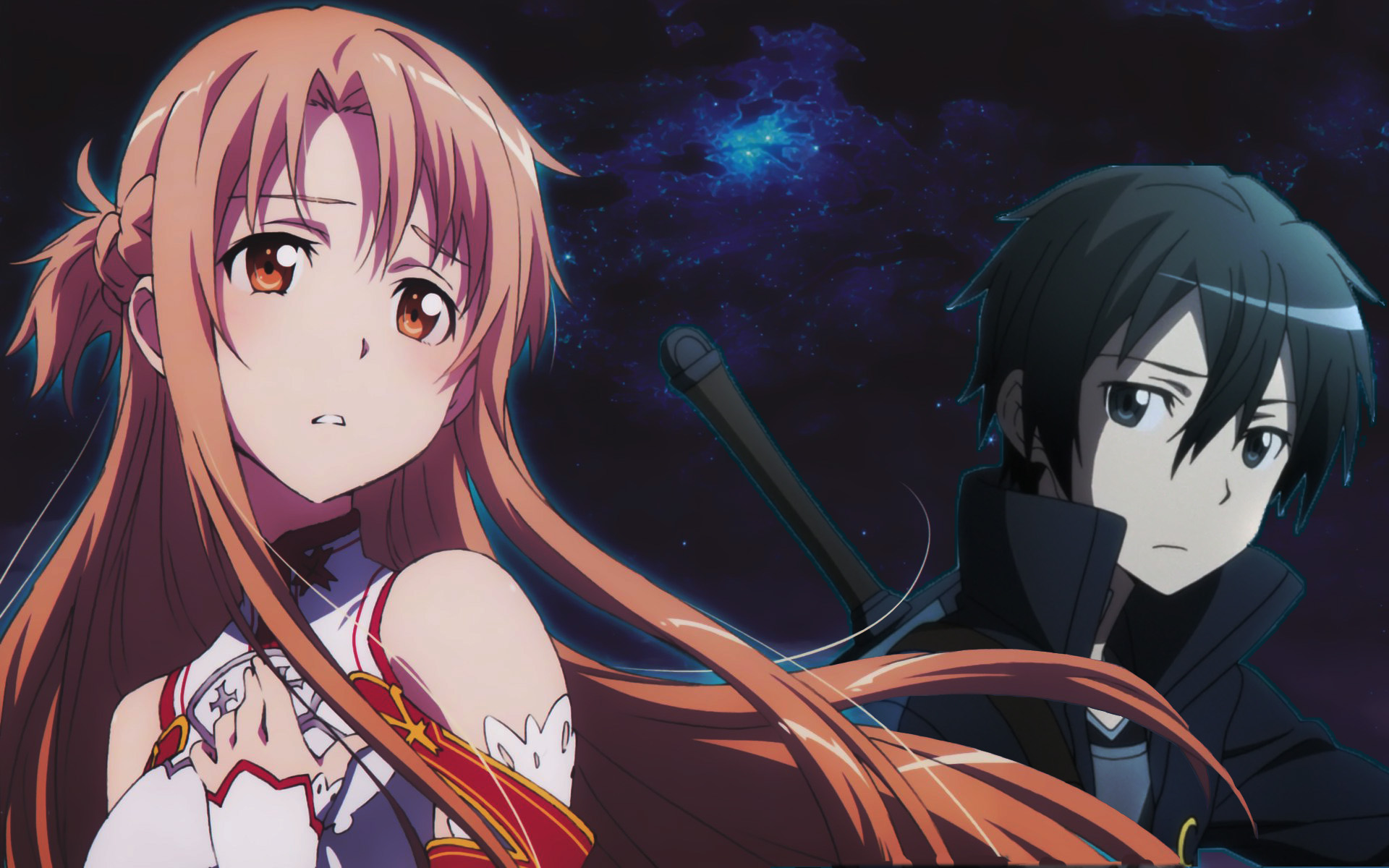 Asuna Kirito Wallpaper by NSSHardscopes
