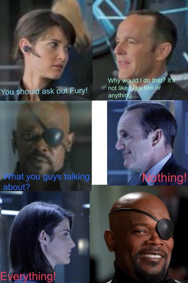 Coulson x Fury? by Annabella5369