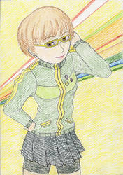 Chie-chan can't use her persona!! by niektory
