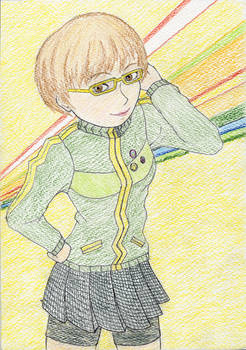 Chie-chan can't use her persona!!