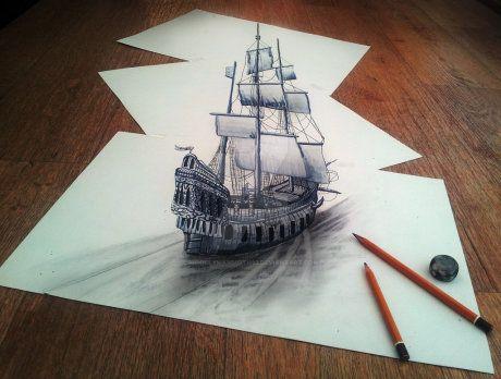 3D Pirate ship by woollymammoth92 on DeviantArt