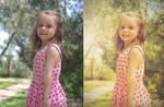 Retro Vintage effect on photo