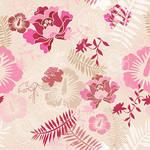 Floral Botanical 1 Pink Camel