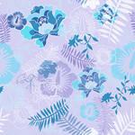 Floral Botanical 3 Blue