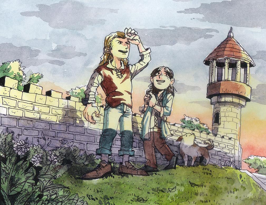 Young Fili and Kili? by soodal