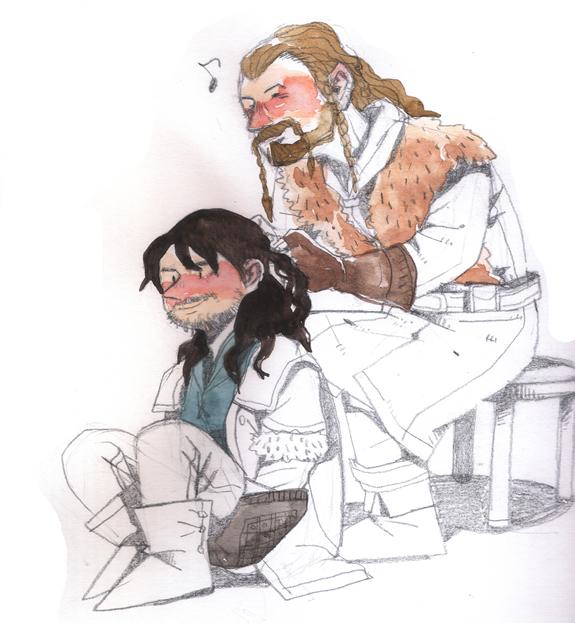 Fili and Kili by soodal