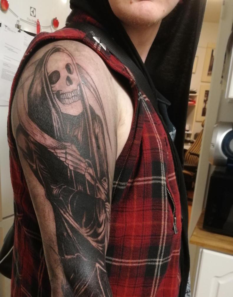 grim reaper tat