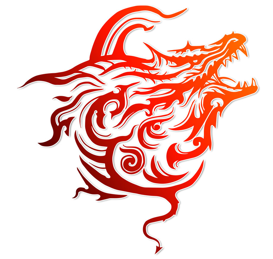 red dragon symbol