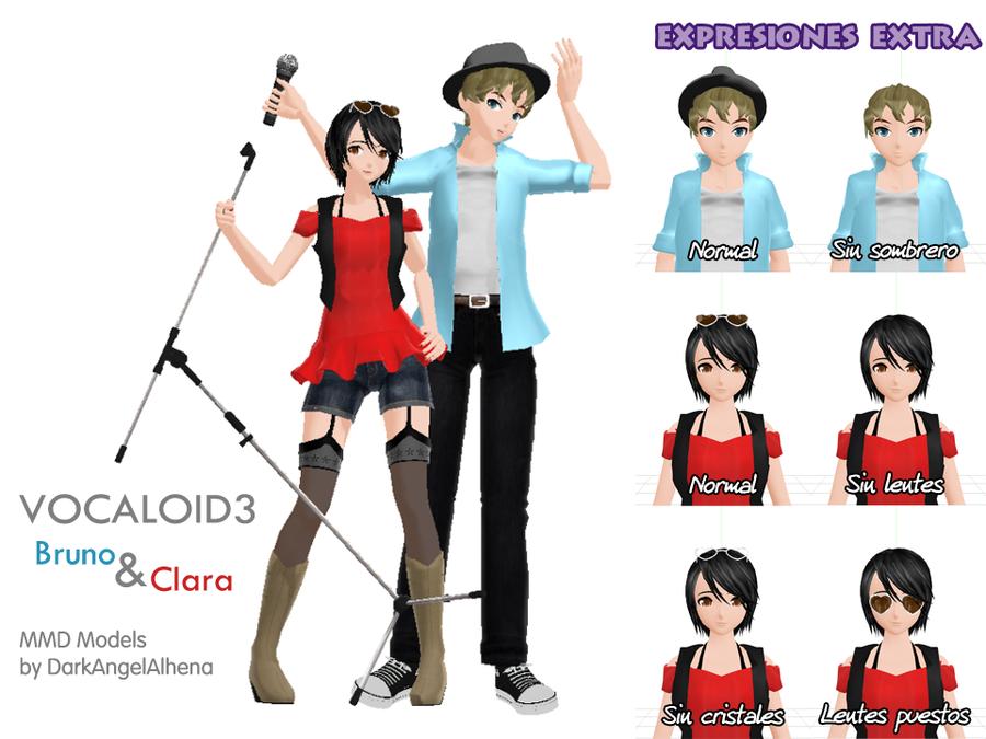 DT Vocaloid Bruno y Clara Extra Info by DarkAngelAlhena