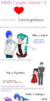 Mmd Couple Meme by DarkAngelAlhena