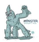 Monster Monday 002- Shark Creature