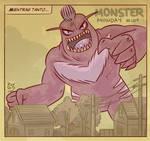 Monster Monday 004- Giant Evil Monster