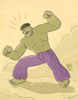 The retro Incredible Hulk