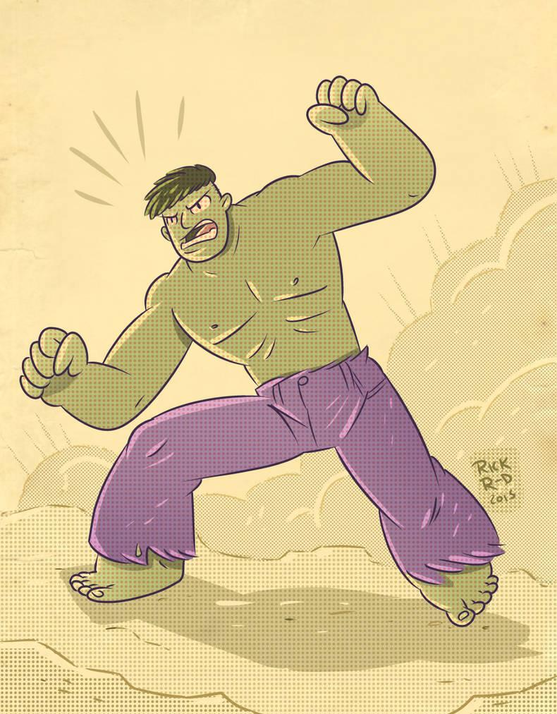 The retro Incredible Hulk