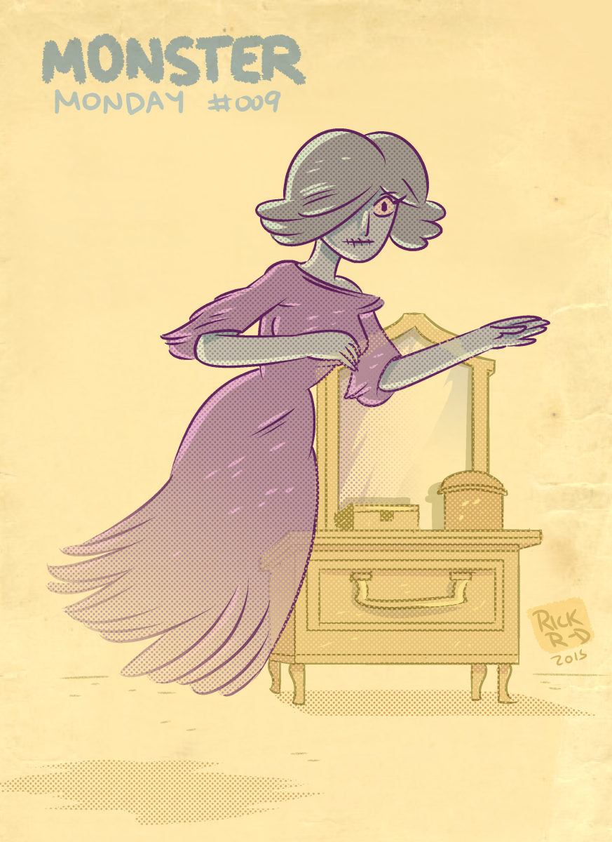 Monster Monday 009- Ghost Woman