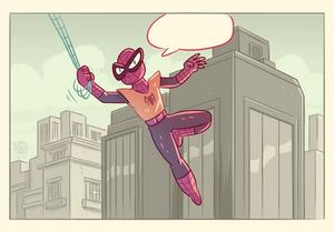 Marvel Comics Mashup- Spiderclaw