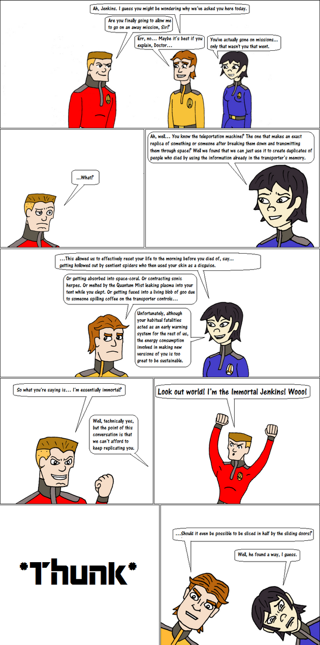 Stellar Expedition: the Red Shirt by EspanolBot
