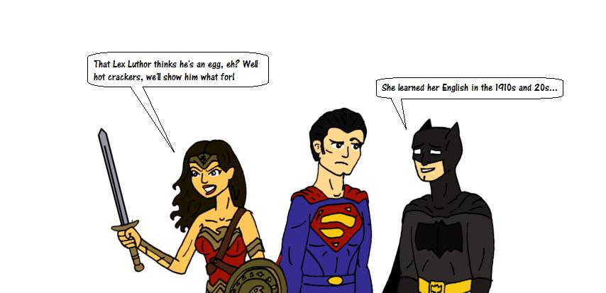DC Cinematic Universe Wonder Woman by EspanolBot