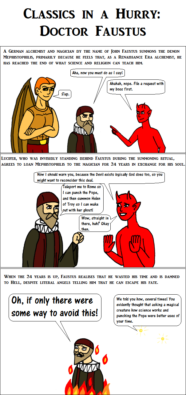 Classics in a Hurry: Doctor Faustus by EspanolBot