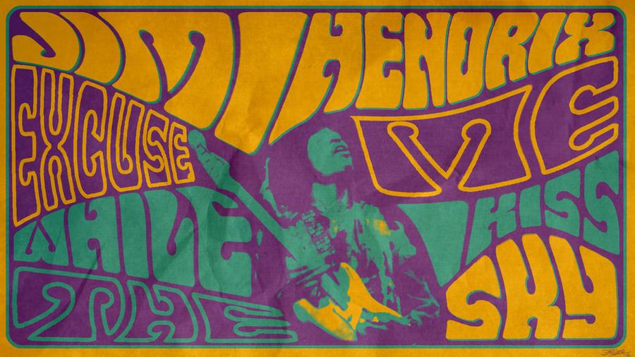 Jimi hendrix fillmore by xinometal on deviantart - Jimi hendrix wallpaper psychedelic ...