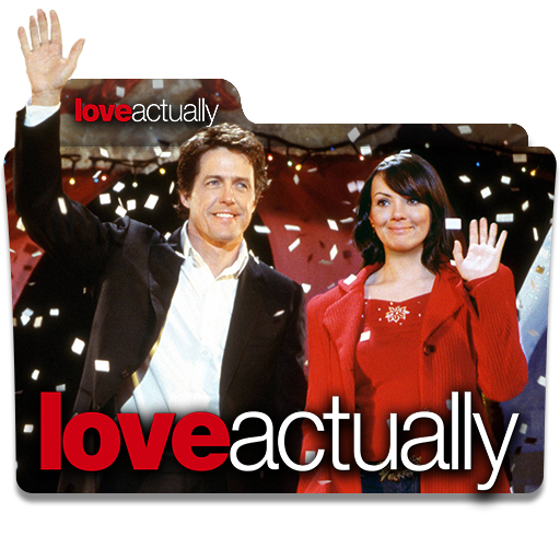 Love Actually 2003 Folder Icon By Wisdoomer On Deviantart